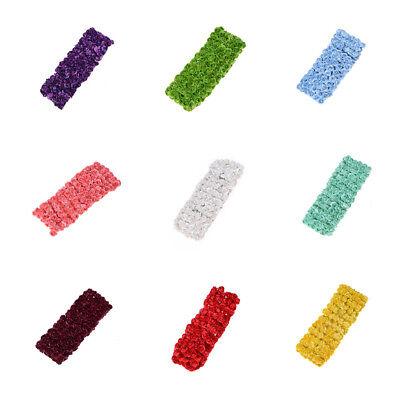 144PCS Mini-Blumen-Kopf-künstliches Papier blüht Rose für Hochzeitsfest-Dekor W0 ()