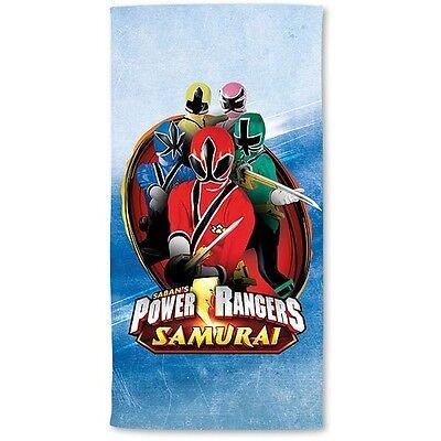 Strandtuch Power Ranger Modell: Samurai Grösse 70 x 140 cm Neuware Duschtuch