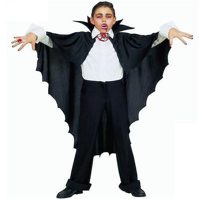 Vampirumhang Fledermaus Halloween Umhang Kostüm Dracula Vampir  (3582)