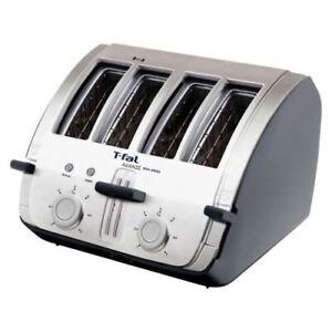 T-Fal Avante High Speed 4-Slice Toaster & Bagel. Model 572714