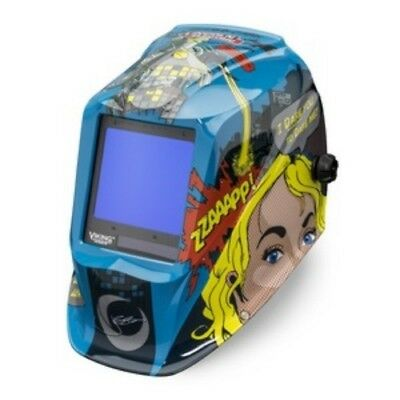 Lincoln Electric Viking 3350 Jessi V The Robot Welding Helmet - K3372-3