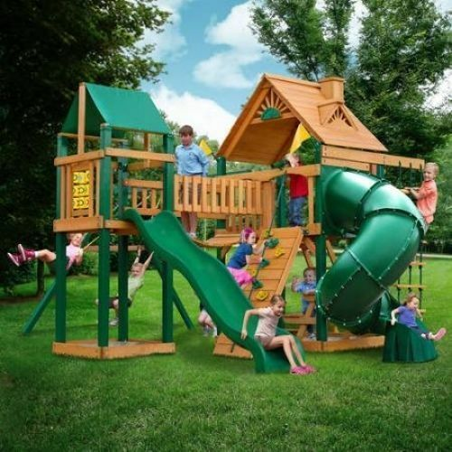 how to make a playground in your backyard