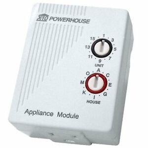 X10 Home Automation, Appliance Module & RF Remote