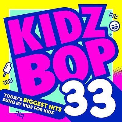 Kidz Bop Kids   Kidz Bop  Vol  33  New Cd