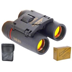 SAKURA 30 x 60 zoom Day Night Vision MINI COMPACT BINOCULARS TELESCOPES TRAVEL