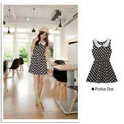 Korean Polka Dot Dress