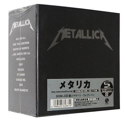 "NEW SEALED! Metallica ""The Album Collection"" 13 CD Mini-LP Japan Box Set"