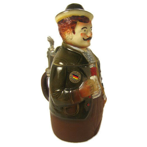 Man Figure German Beer Stein K291