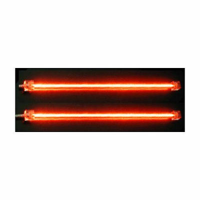 Dual 12' Cold Cathode Light - Logisys Dual Cold Cathode Fluorescent Lamp (Red) Computer Lights