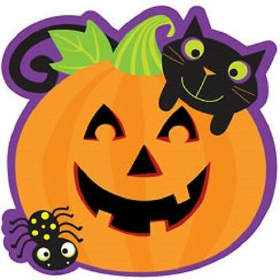 2 x Large Halloween Cute Fun Cutout Kids Decorations approx 38cm - Cute Kid Halloween Decorations