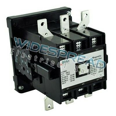 New Eh-145-30-22as Abb Eh Series Contactor 125hp 145a 480v Coil 1 Year Warranty