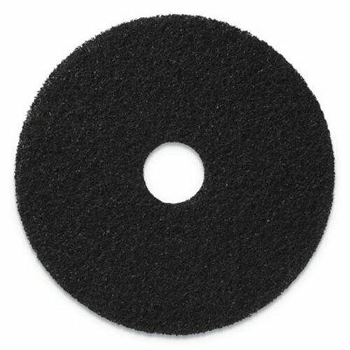 "Americo Stripping Pads, 17"" Diameter, Black, 5 Pads (AMF400117)"