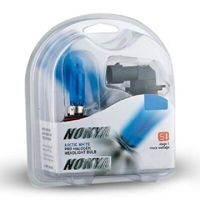 New Nokya Arctic White 9006/HB4 Headlight Bulbs- 7000K 55W Stage 1 - NOK7410 ()
