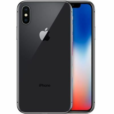 Apple iPhone X - 64GB Space Grau - (ohne Simlock) NEU OVP MQAC2ZD/A EU