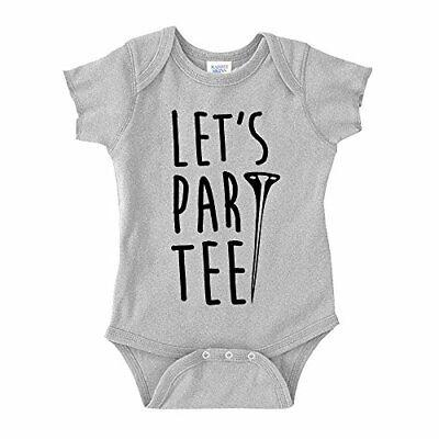 Let's Par Tee Golf Baby One Piece or Toddler T-Shirt (Baby Golf Golf T-shirt)