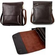 Polo Men's Leather Shoulder Bag