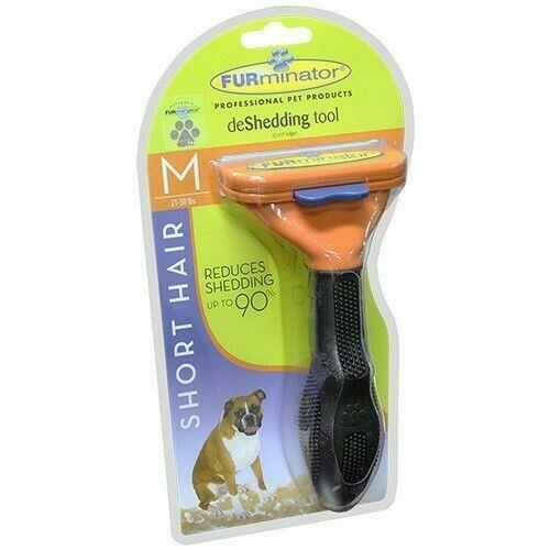 FURminator deShedding Tool for Short Hair Dogs Medium 21-50lbs, NEW Free Shipp