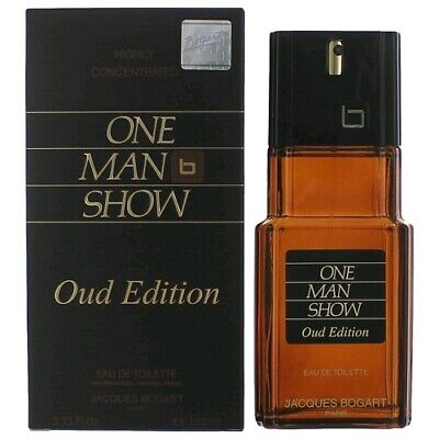 JACQUES BOGART ONE MAN SHOW OUD EDITION 100ML EDT SPRAY BRAND NEW & BOXED