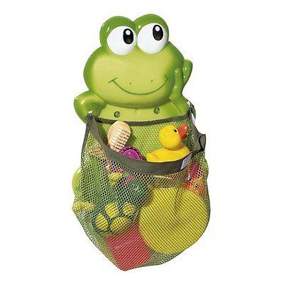 BABY-WALZ Aufräumnetz Frosch Badezubehör NEU grün