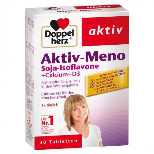 DOPPELHERZ Aktiv-Meno Tabletten 30 St