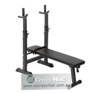 Adjustable Multi Level Weight Bench Incline Squat Rack