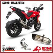 Ducati Multistrada 1200 Exhaust