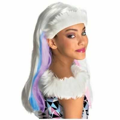 Girls 6+ * ABBEY BOMINABLE WIG * Monster High Halloween Costume Wig One Size