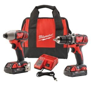 Milwaukee Cordless Drill Driver / Impact Driver  - NEW