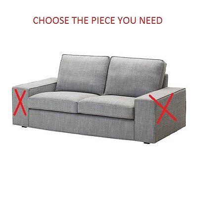 Ikea Kivik Loveseat Slipcover Cover Isunda Gray 102 751 12   Pieces  You Pick