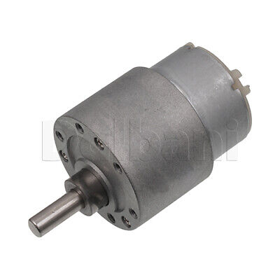 Dc Gear Motor High Torque 37gb 12v 10rpm 500t For Diy Robotics Arduino