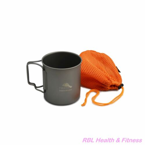 TOAKS Titanium 450ml Cup CUP-450  - Outdoor Camping Cup