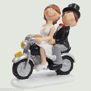 Brautpaar Motorrad