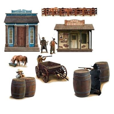 Wild West Shootout Props Wall Add-Ons (Wild West Props)