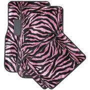 Zebra Print Floor Mats