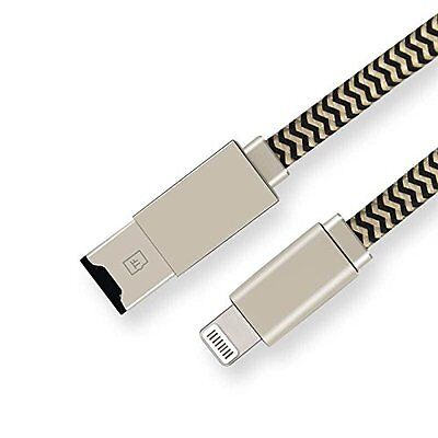 2 in 1 Micro SD Be forthright Reader 8 Pin to USB Data Sync Charging Cable for iPhone7,65