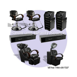 Salon package spa beauty furniture equipment for Salon spa equipment