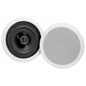 Dynex 6.5in Ceiling Speakers pair - New in box
