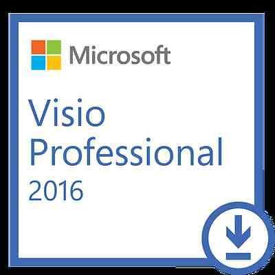 Microsoft Visio 2016 Professional For Pc Online 100  Genuine