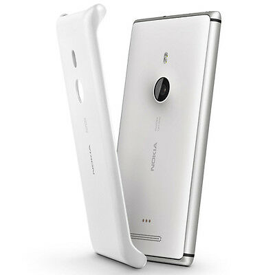 NEW NOKIA CC-3065 WIRELESS CHARGING SHELL CASE COVER FOR LUMIA 925 WHITE CC3065