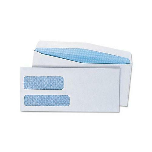 Double window envelopes ebay for Window envelopes