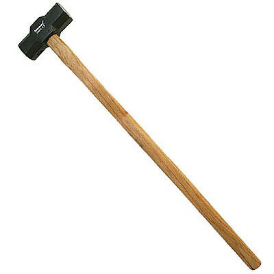 New Silverline 7lb Hardwood Sledge Hammer With Wooden Handle