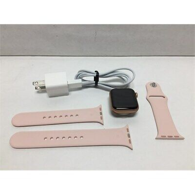 Apple Watch Series 5 (GPS+Cellular, 40mm) - Gold Aluminum Case with Pink Sport