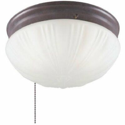 Westinghouse 6720200 Two-Light Indoor Flush-Mount Ceiling Fixture w/ Pull (Ceiling Fixture Westinghouse Light)