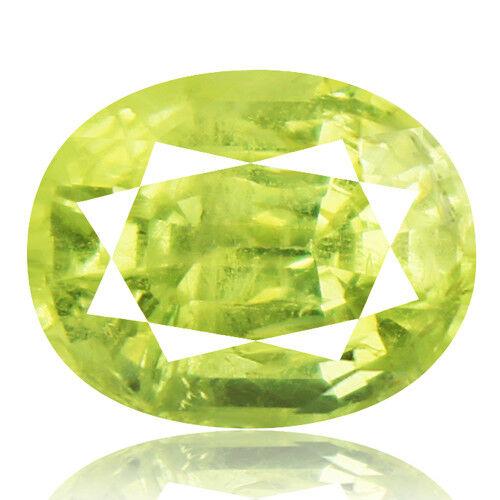 Tsavorite Family Garnet 4.31ct yellowish green color 100% natural earth mined