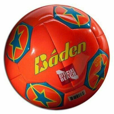 Baden Beach Soccer Ball Orange Size 5 - Orange Beach Balls