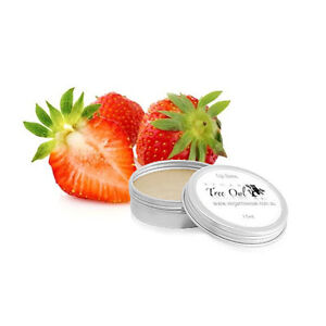 STRAWBERRY-Natural-Lip-Balm-by-Vegan-Tree-Owl-Australian-Made-15ml
