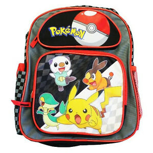 Authentic Pokemon Pikachu and Friends School Backpack Bag for Kids ...