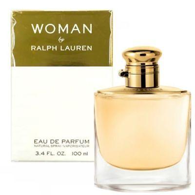 Woman BY Ralph Lauren Eau de Parfum EDP 3.4 FL. OZ. 100 ml PERFUME SPRAY SEALED