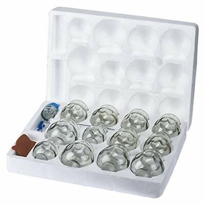 Feibrand Ventosas Cristal Masaje Cupping Set Vidrio Fuego Fisioterapia Chinas
