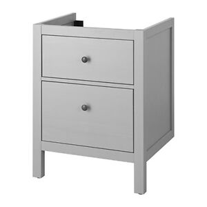 Brand NEW Ikea Hemnes sink cabinet w/drawers in grey finish